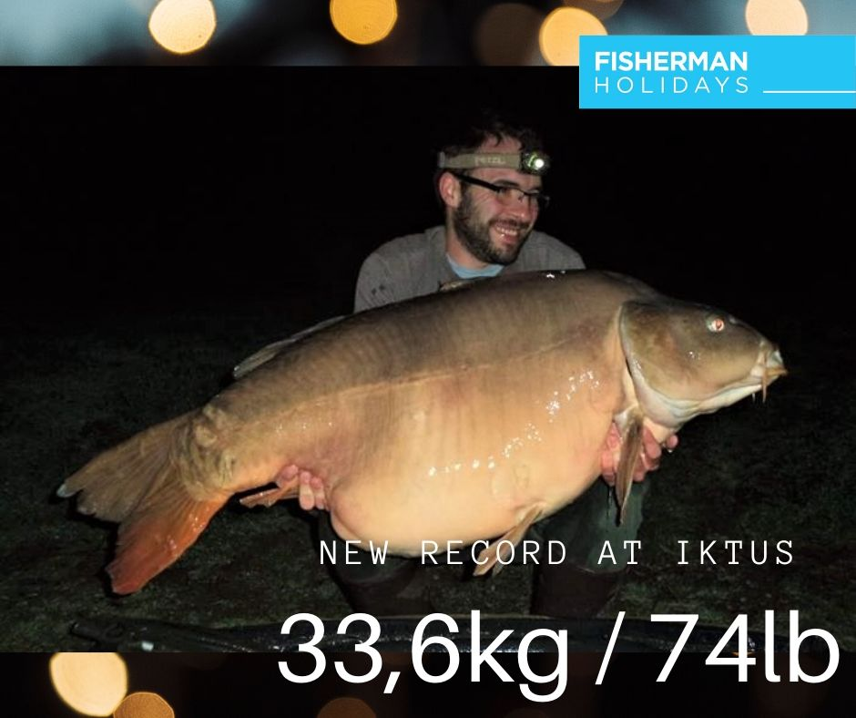This is the biggest carp from Iktus