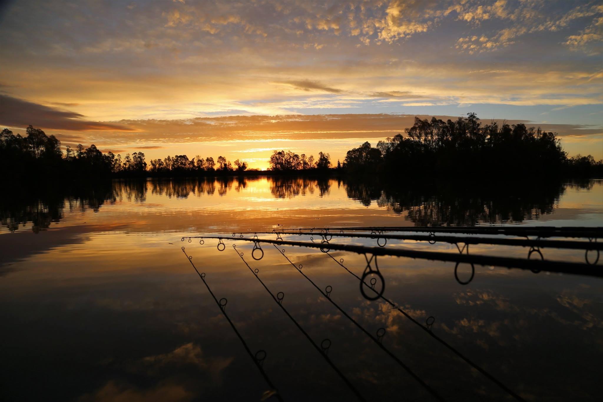 Zonsondergang op Robin Lake, Goncourt